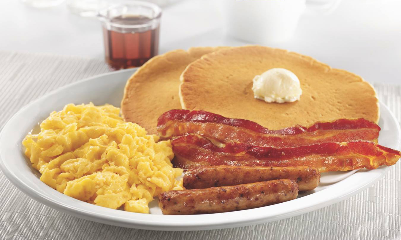 Dennys Canada Grand Slam Meal Promotion