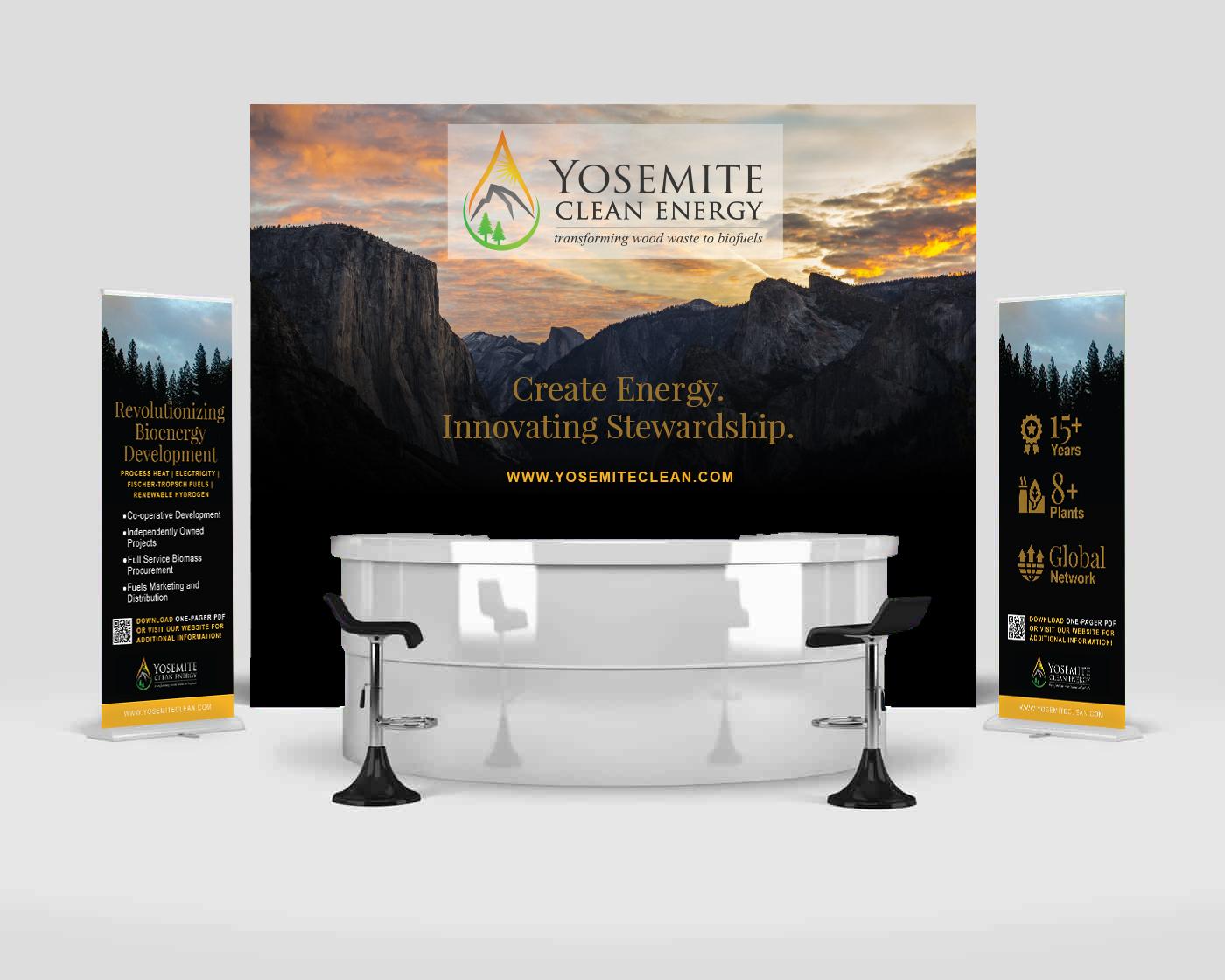 Trade Show Event Graphic Design