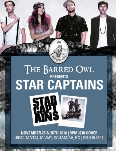 The Barred Owl_Star Captains Poster